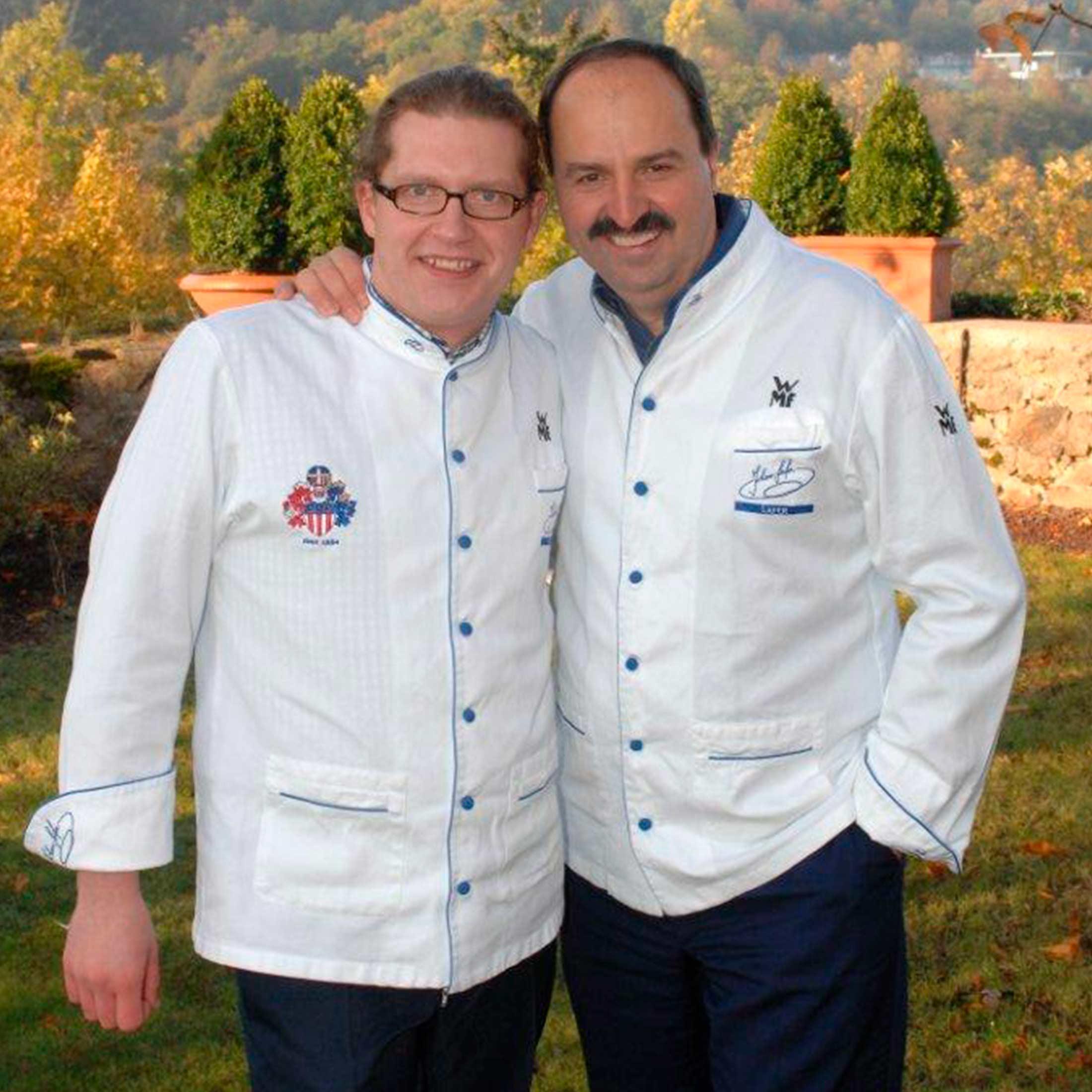 Bernhard Munding und Johann Lafer