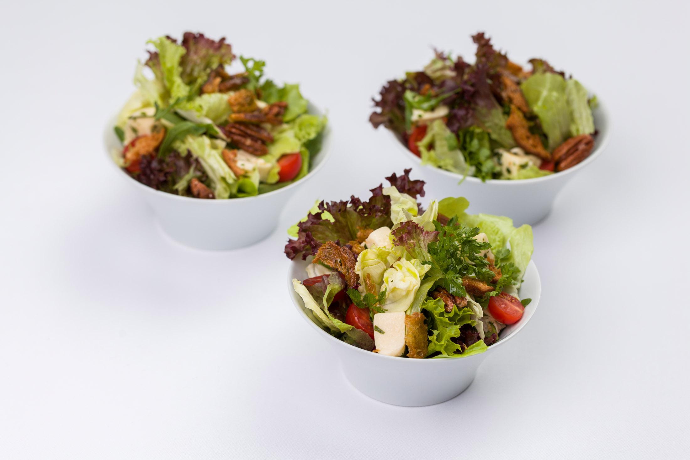 Verschiedene Blattsalate