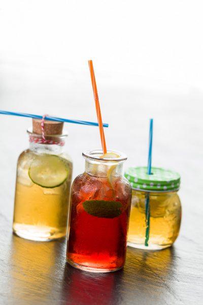 Erfrischende Getränke und Home-Made-Lemonade