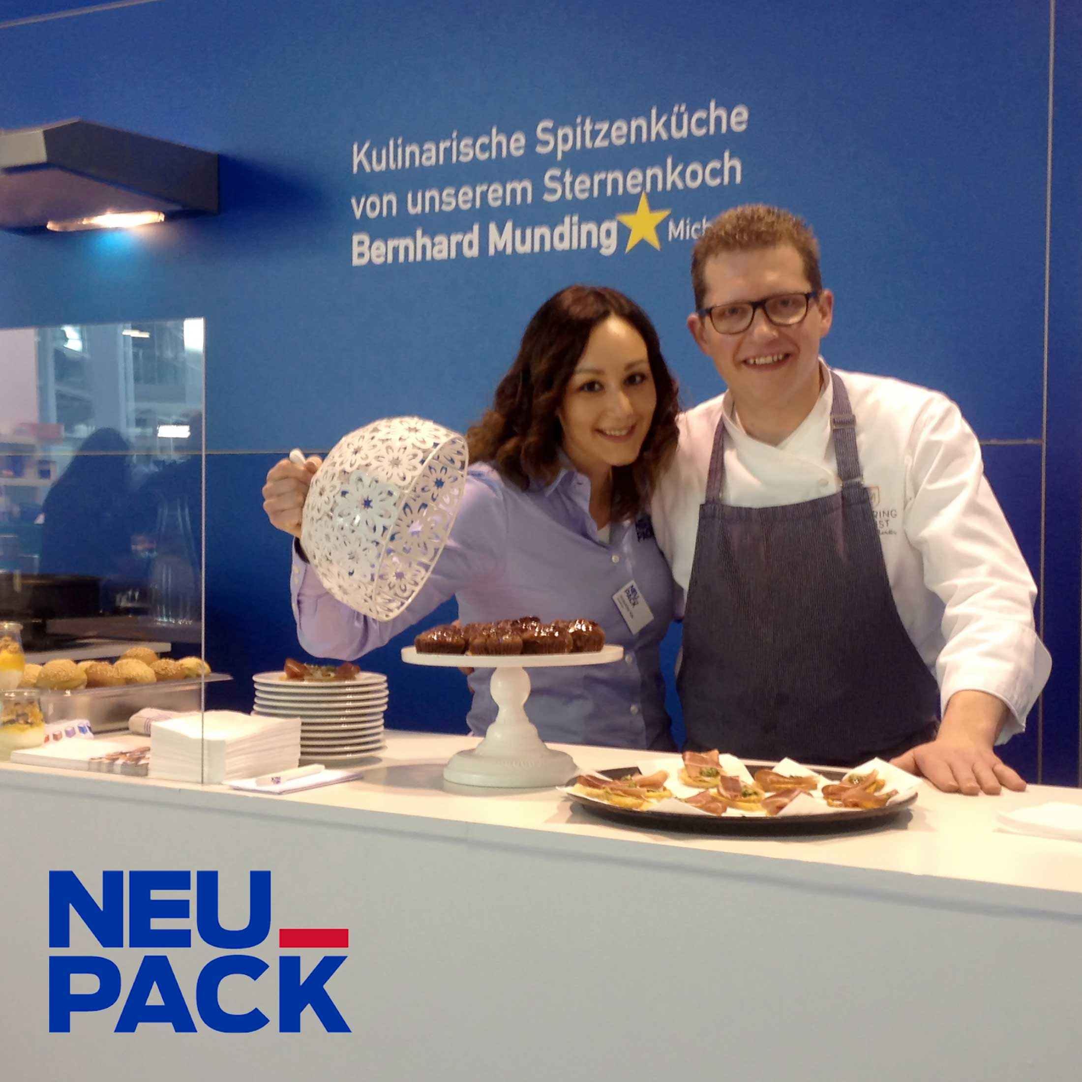 Messecatering bei NEUPACK